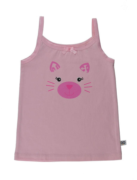 Zoocchini - Girls Accessories / Underwear - Two Piece Cami / Panty Kitty