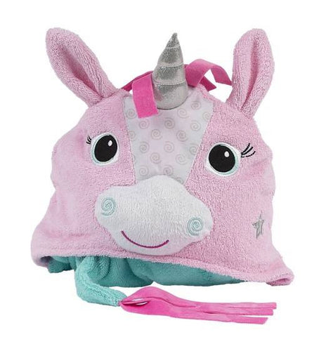 Zoocchini - Girls Accessories / Towel - Allie The Alicorn Hooded Towel