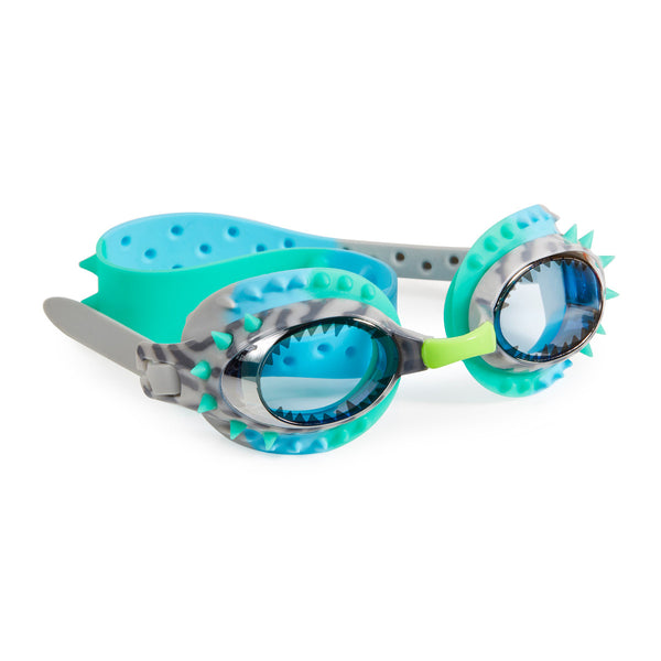Bling2o - Swimming Goggles /  Prehistoric - Raptor Blue Grey