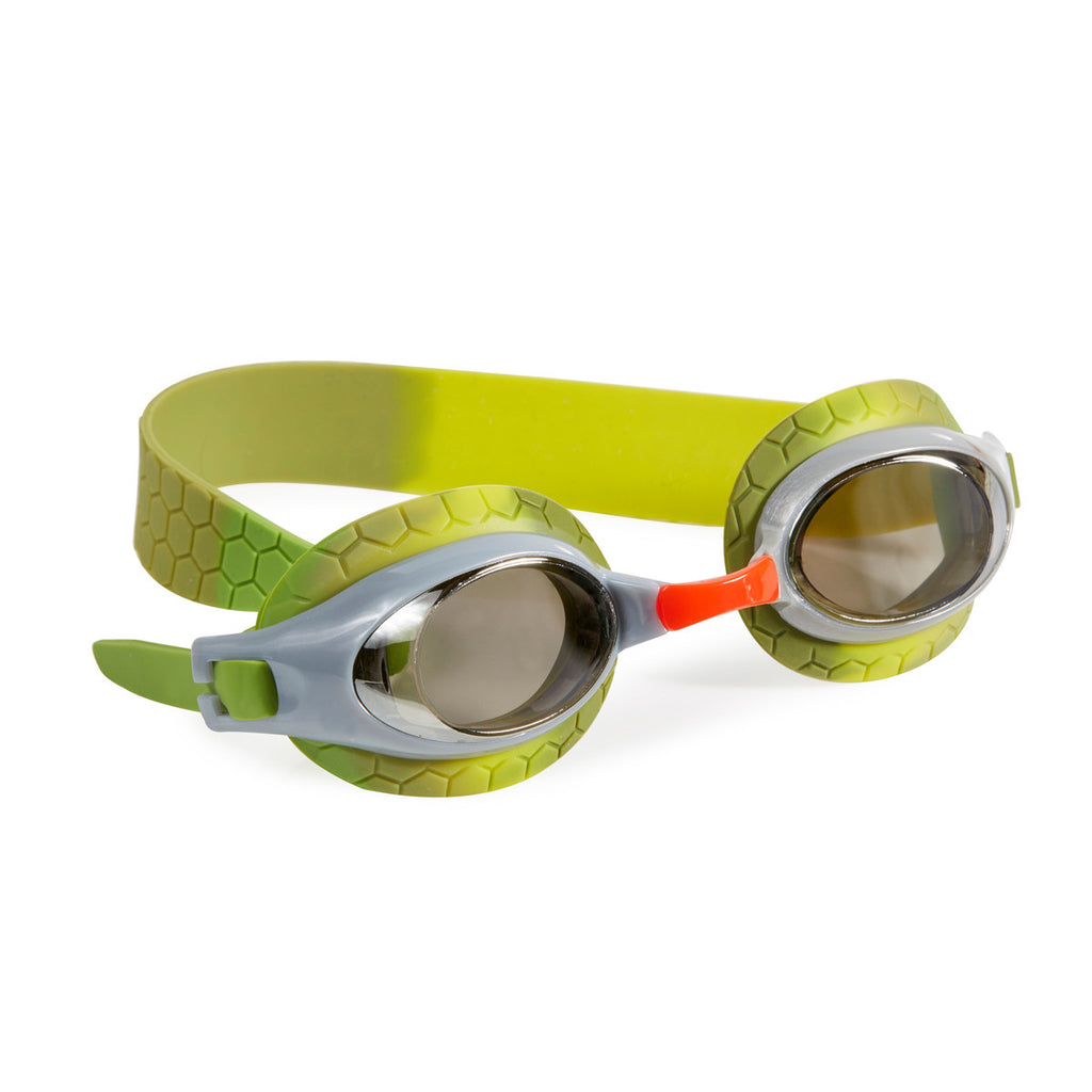 Bling2o - Swimming Goggles / Snappy Kids Swim Goggles - Silver Shell Grey