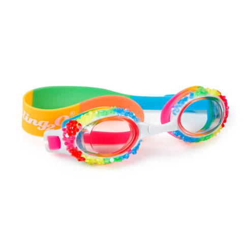 Bling2o - Swiming Goggles / Sno Cone Swim Goggles - Rainbow