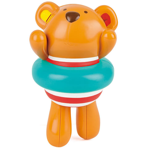 Hape - Pool / Bath Toy - Swimmer Teddy Wind-Up Toy