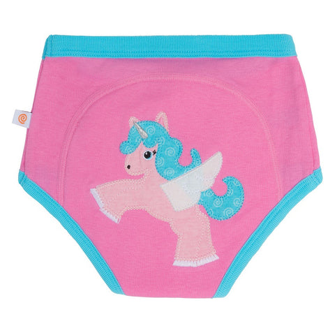 Zoocchini - Girls Accessories / Underwear - Pant Alicorn / Pink