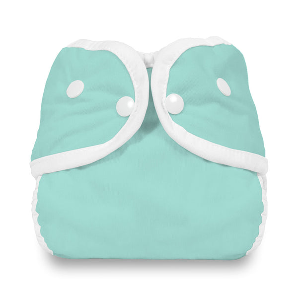 Thirsties - Baby's Cloth Diapers - Snap Diaper Cover / Aqua