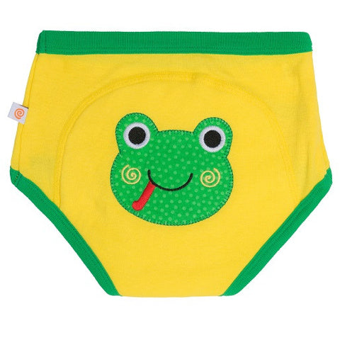 Zoocchini - Boy's Accessories / Underwear - Pant Frog Yellow