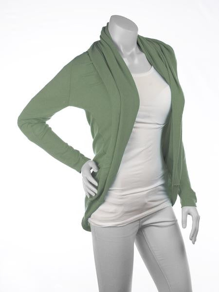 Multiwear - Mom's Tops - Cool Cardimom Green