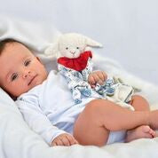 Kathe Kruse by Hape - Baby's Teddies / Towel - Classic Towel Doll Lamb