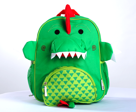 Zoocchini - Kids Accessories / Backpack - Devin The Dinosaur