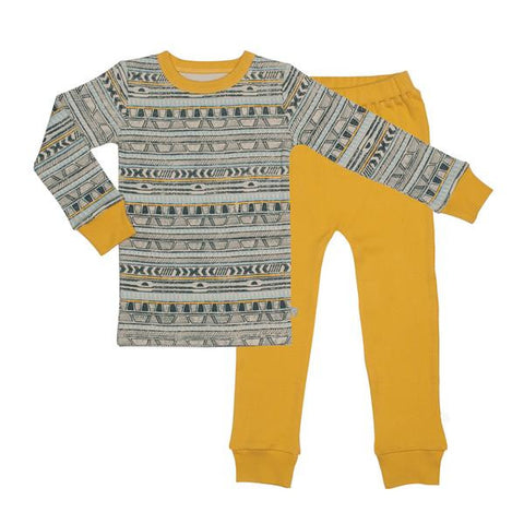 Finn Emma - Pajamas - Tribal Strip/Golden