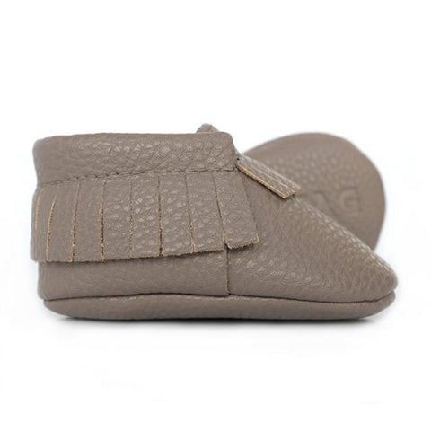 Sweet N Swag - Babies Shoes / Moccasins - Modern Taupe
