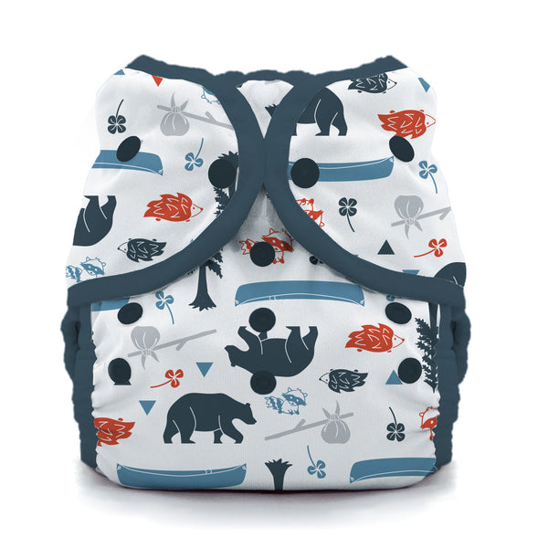 Thirsties - Baby's Cloth Diapers - Snap Duo Wrap / Adventure Trail
