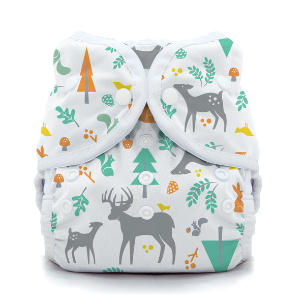 Thirsties - Baby's Cloth Diapers - Snap Duo Wrap / Woodland