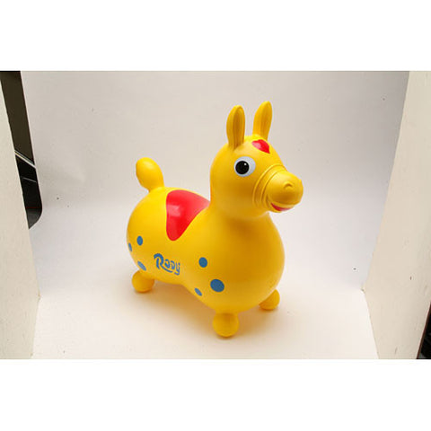 Tmi - Children's Toys / Rides - Rody Horse Yellow