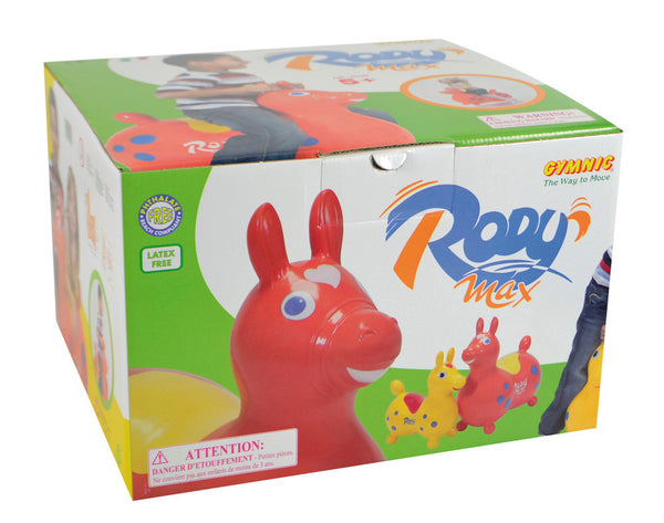 Tmi - Children's Toys / Rides - Rody Max Red