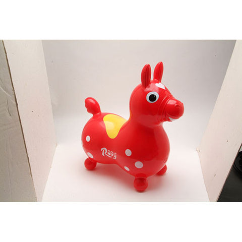 Tmi - Children's Toys / Rides - Rody Horse Red