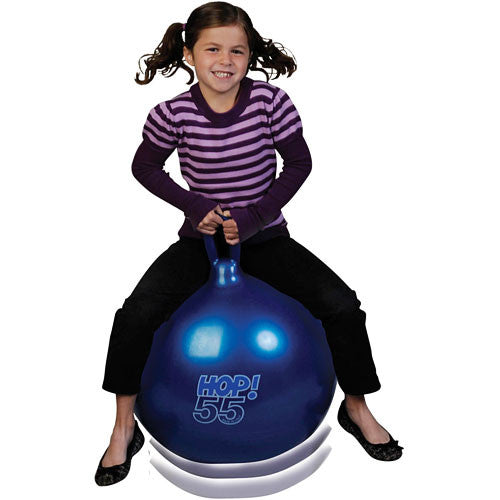 "Tmi - Children's Toys - Gymnic Hop Ball / 55 - 22"" - (Metallic Blue)"
