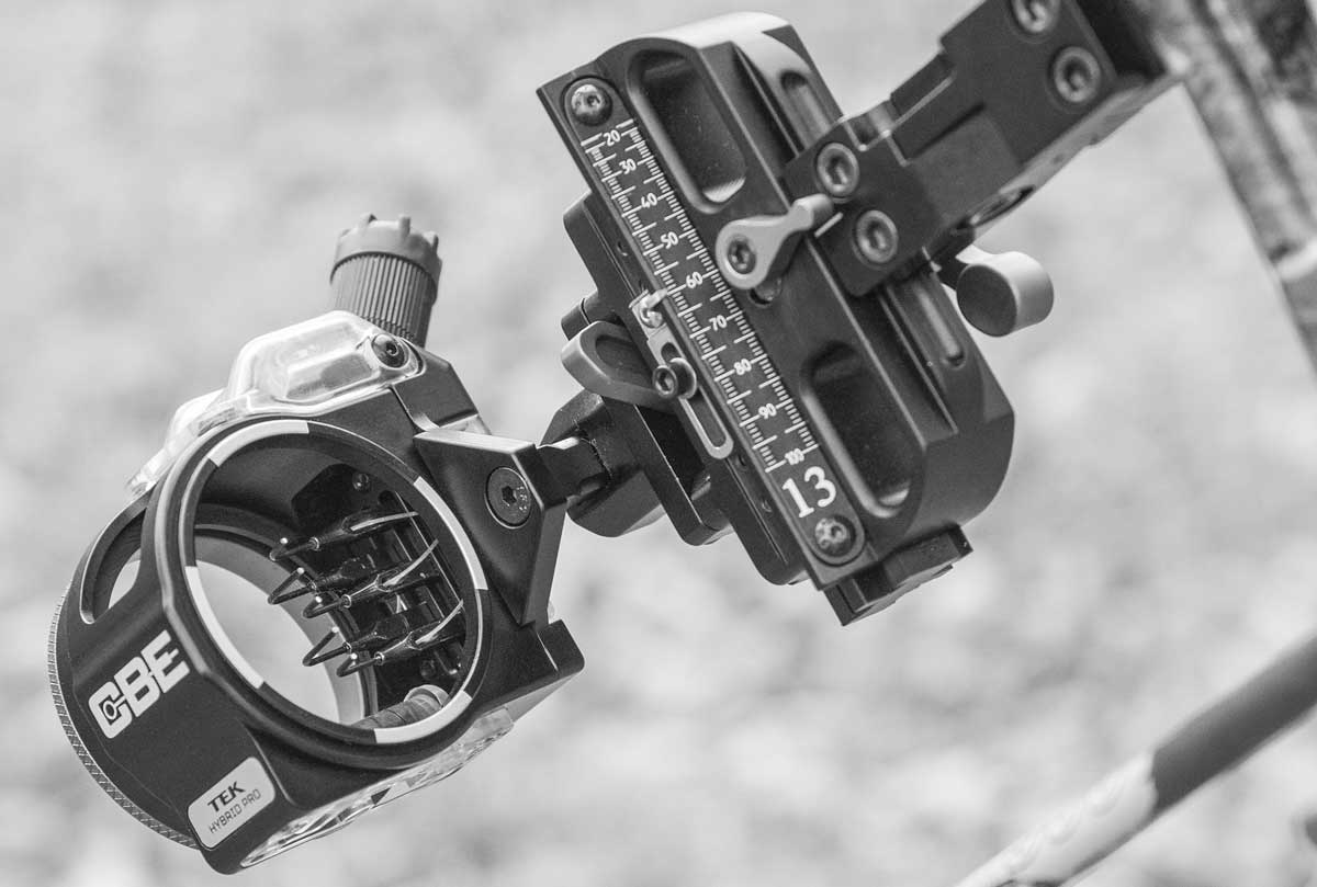 Custom Bow Equipment - Why CBE - TEK Hybrid Pro Hunting Sight
