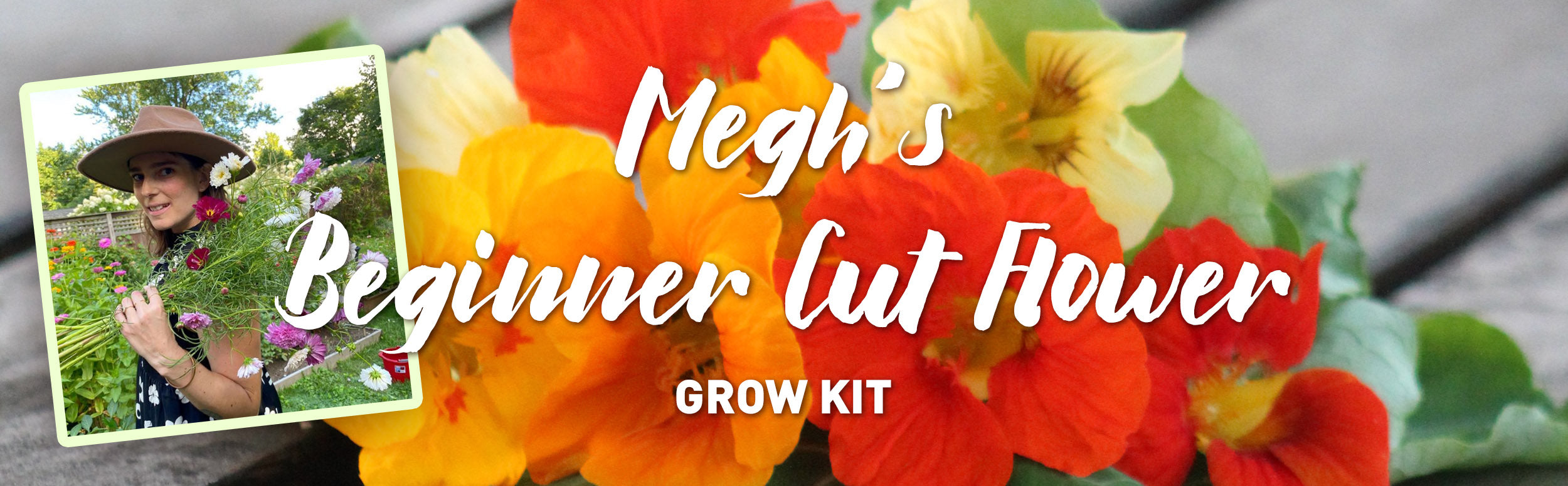 Megh's Beginner Cut Flower Grow Kit