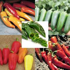 Pepper Seed Collection - Hot Peppers