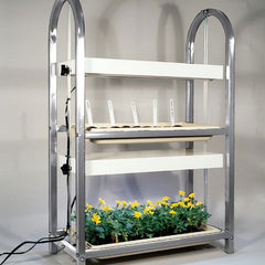 2-Tier/2-Tray Grow Light/Plant Stand