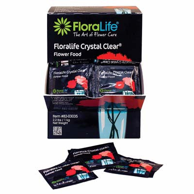 Floralife Crystal Clear Flower Food Pkts