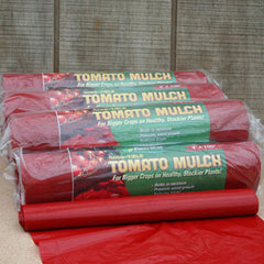 Red Plastic Mulch 4' x 100'