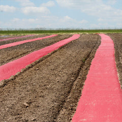 Red Plastic Mulch 4' x 4000'