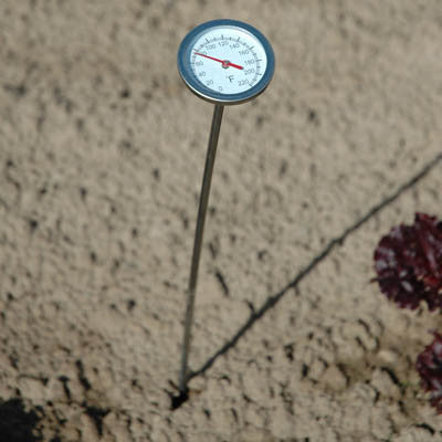 Compost soil thermometer harris seeds for Soil thermometer