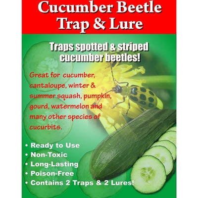 Cucumber Beetle Trap & Lure (2 Pack)
