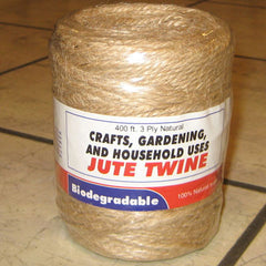 Jute Twine Spool (250 ft)