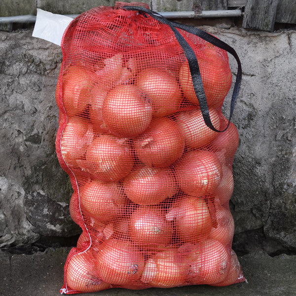 "Mesh Produce Bags for Onions Corn Potatoes 18"" x 32"""