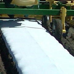 White on Black Plastic Mulch 4' x 2400'