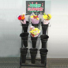 Heavy Duty Cut Flower Display Stand