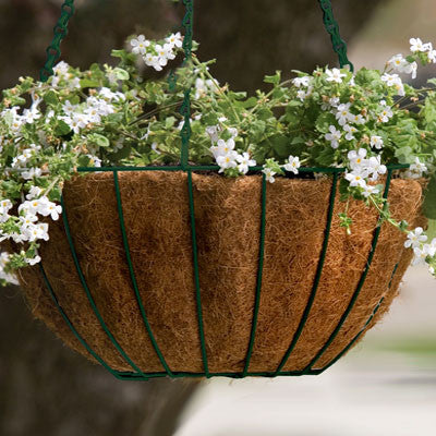 "Grower's Green Metal Hanging Baskets (14"")"