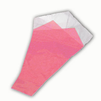 Tissue-Look Bouquet Sleeves (Pink Small)