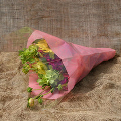 Tissue-Look Bouquet Sleeves (Pink Large)