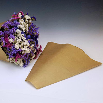 Kraft Paper Bouquet Sleeves (Small)