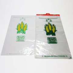 Plastic Corn Bags with Hanger