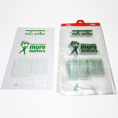 More Matters Plastic Produce Bag with Hanger