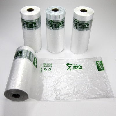 More Matters Plastic Produce Bag Rolls 12 x 17