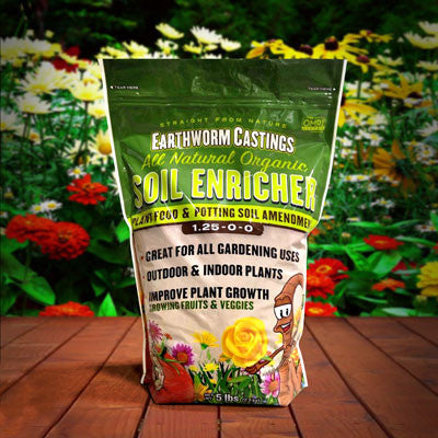 Earthworm Castings Unlimited Fertilizer 5 lb.