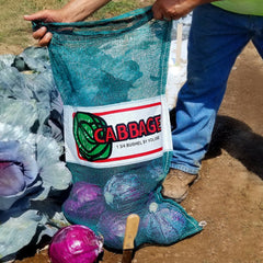 Mesh Cabbage Bags