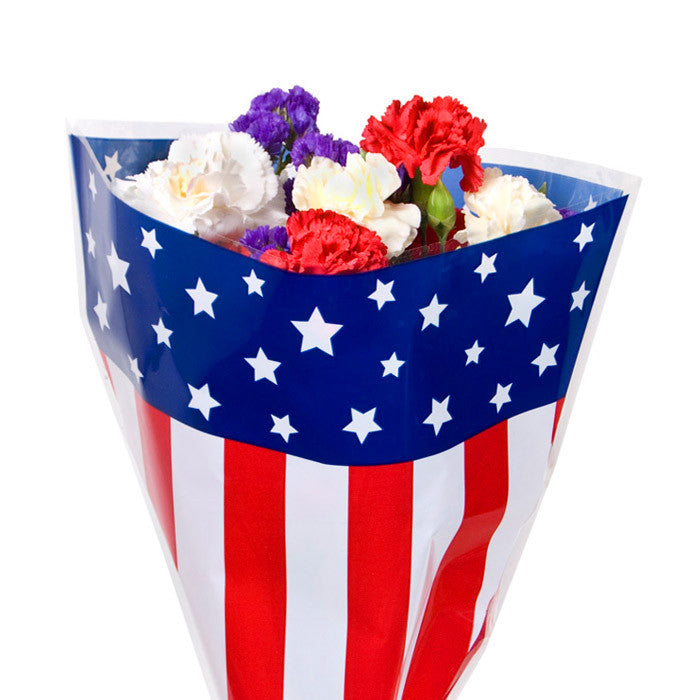 Stars and Stripes Bouquet Sleeves