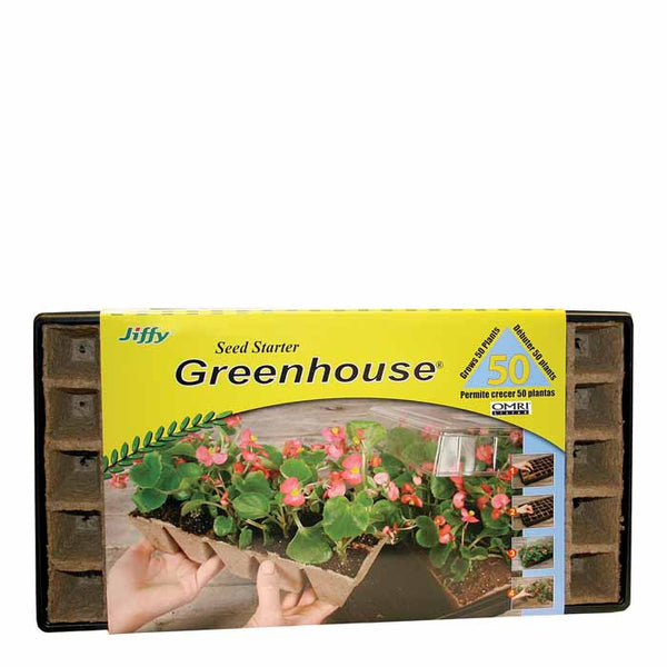 Jiffy Strips-n-Greenhouse Kit