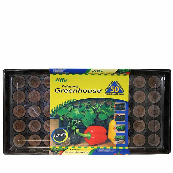 Jiffy Greenhouse 50 ct Regular Pellet Kit