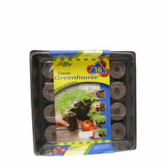 Jiffy Greenhouse 16 ct Super Size Pellet Kit