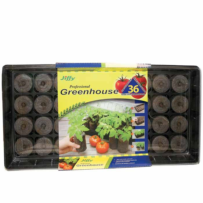Jiffy Greenhouse 36 ct Super Size Pellet Kit