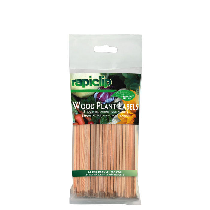 "Rapiclip 4"" Wood Labels"
