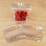 Clear Small Grab n Go Bags
