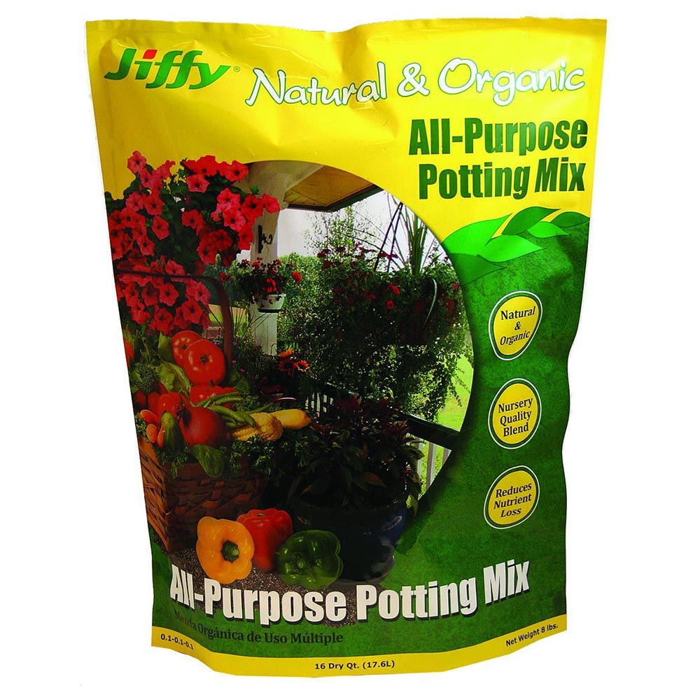 Jiffy Natural & Organic 16 qt. Potting Mix